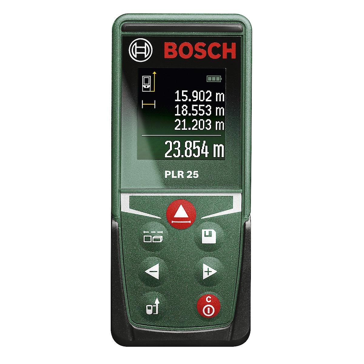 Bosch PLR 25, avstandsmåler