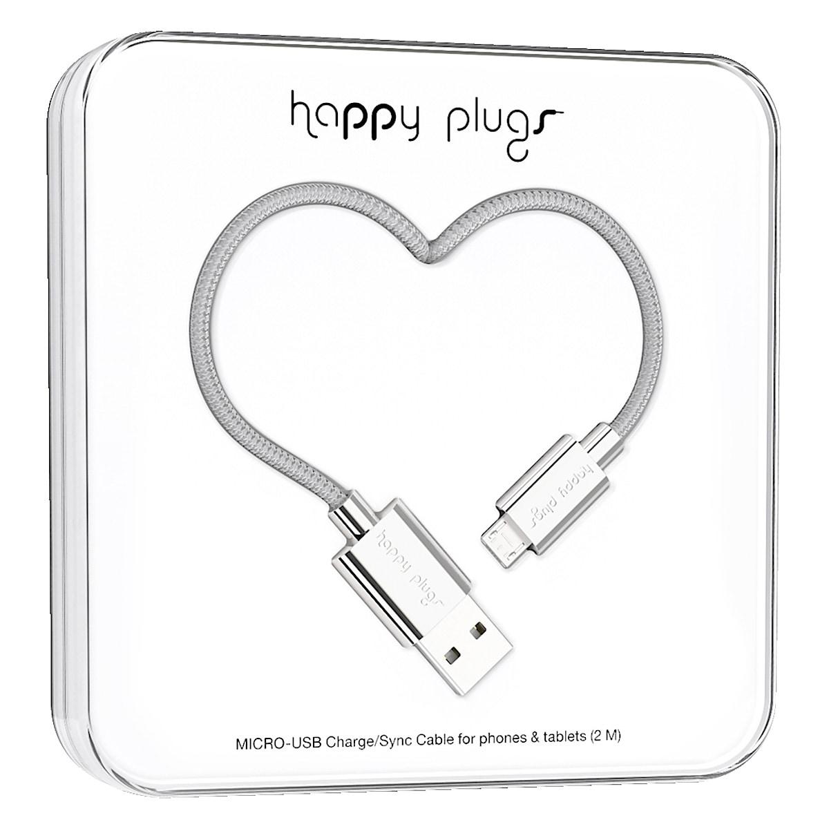 Ladekabel Lightning für iPhone/iPad, Happy Plugs
