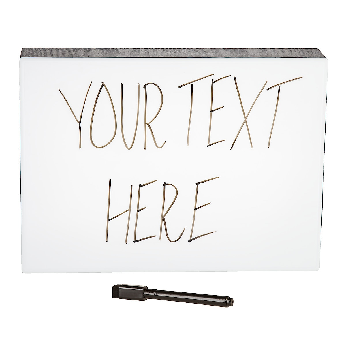 Ljusbox Whiteboard Northlight