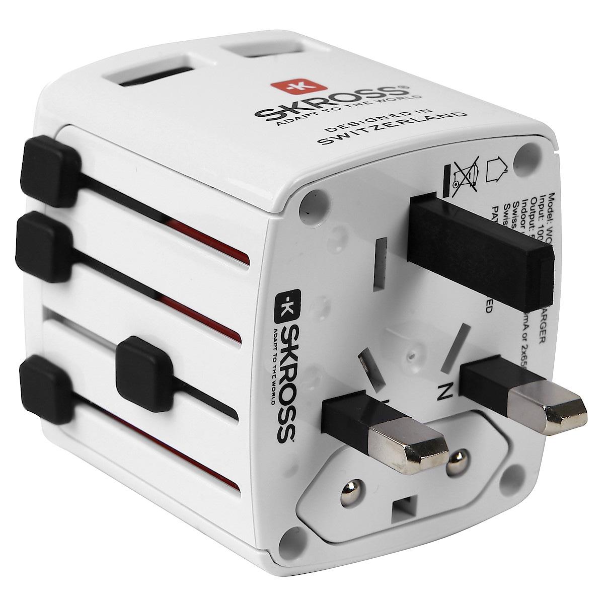 SKROSS World USB charger reiselader