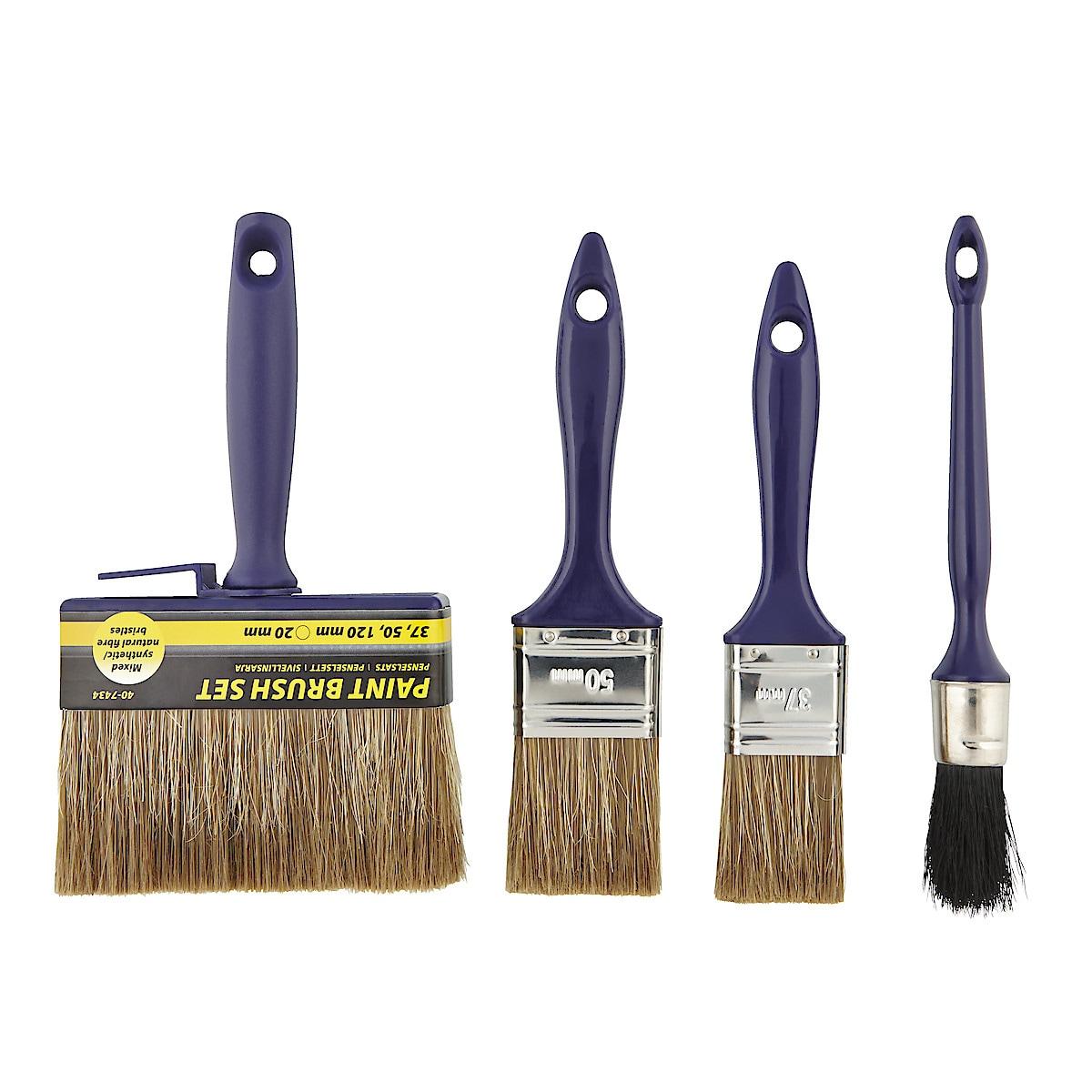 4-Piece Paint Brush Set