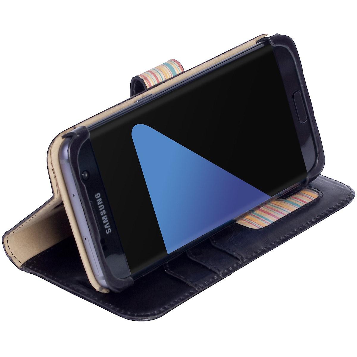 Lompakkokotelo Samsung Galaxy S7 Edge, Krusell Sigtuna FolioWallet