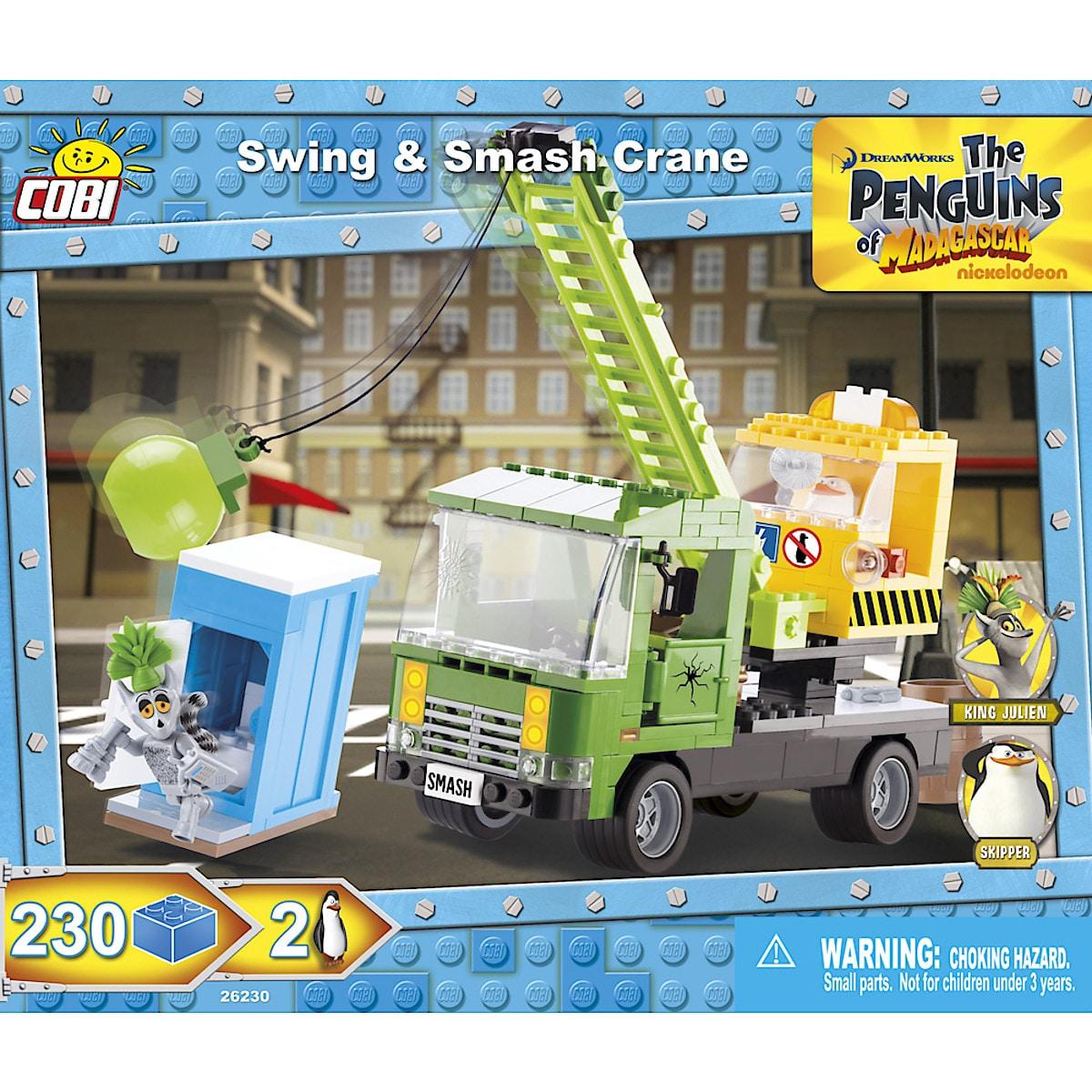 Rakennussarja pingviinien murskain, Cobi