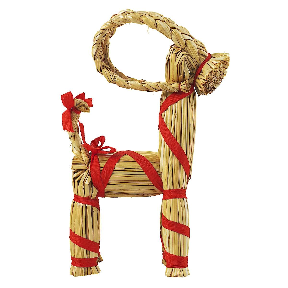 Straw Goat, 20 cm