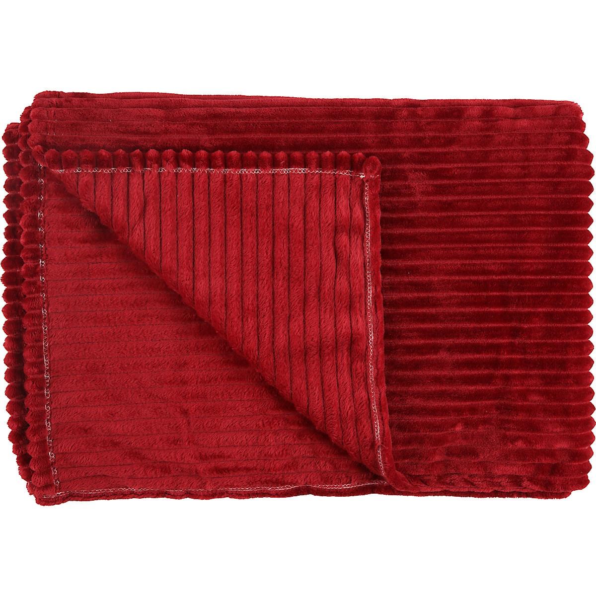 Fleecefilt Stripes 130 x 170 cm