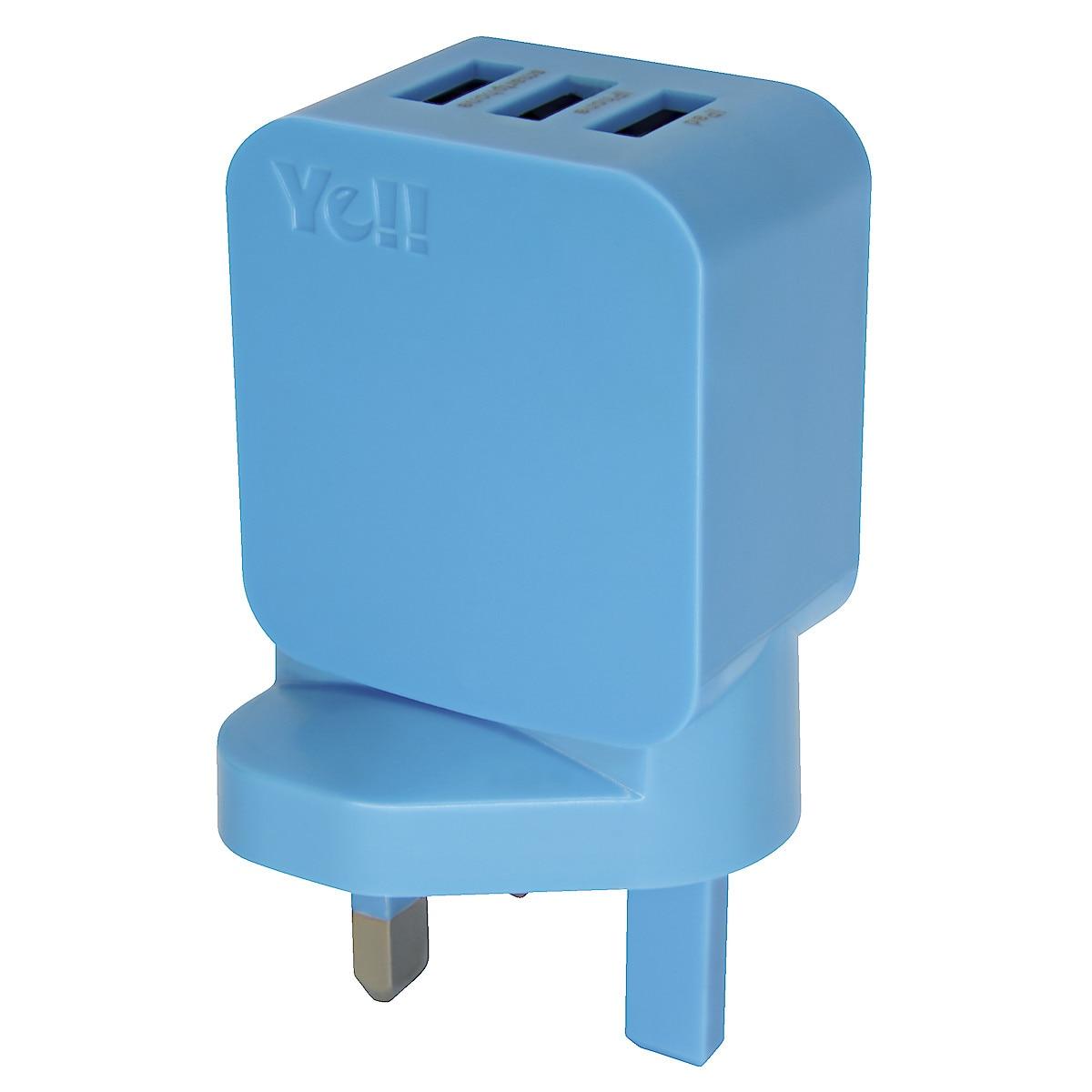 Ye!! 3-Port USB Charger