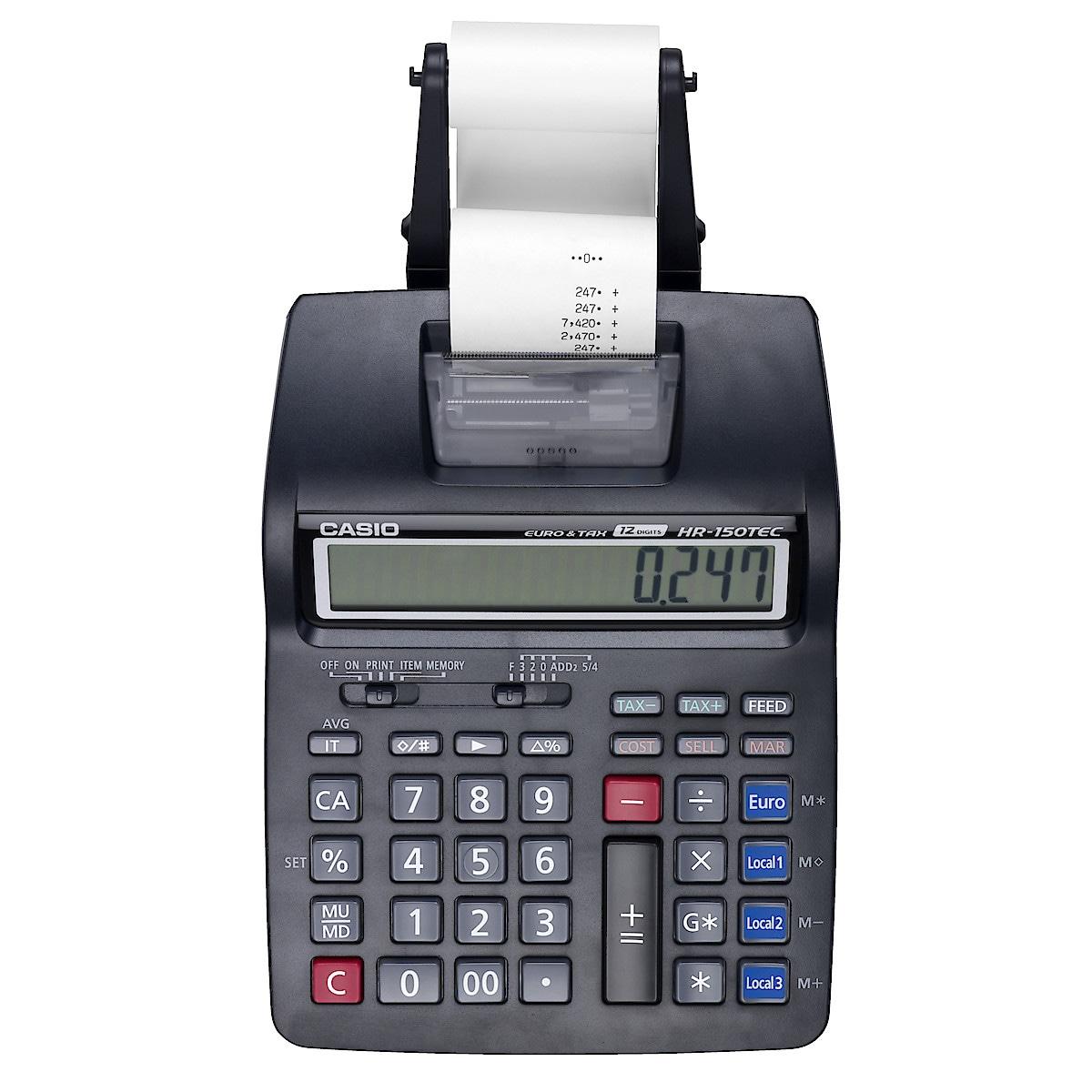 Casio HR150TEC bordregner