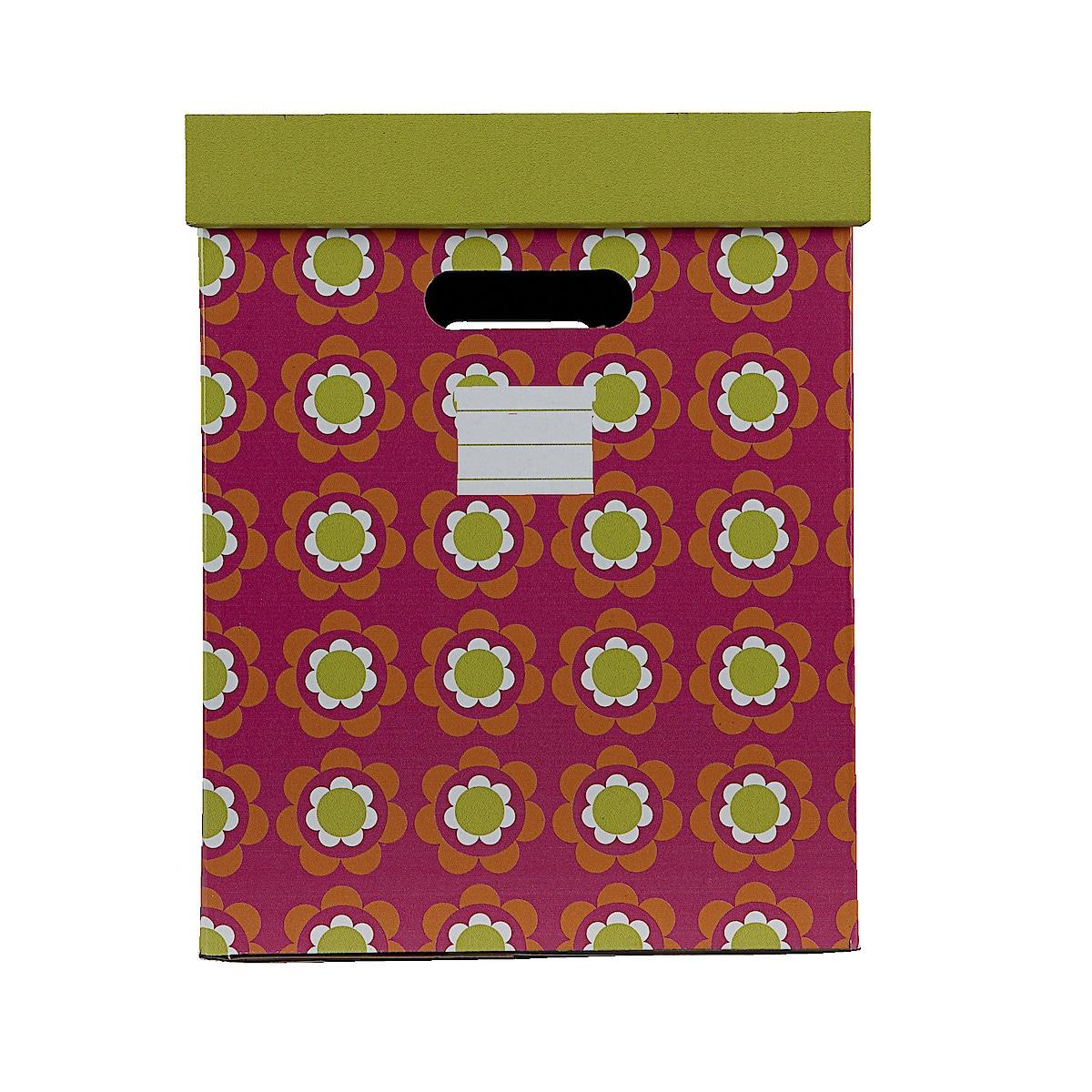 Oppbevaringsesker med lokk, 2-pack