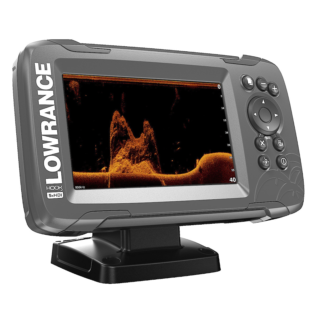 Lowrance Hook2-5x SplitShot GPS Fish Finder
