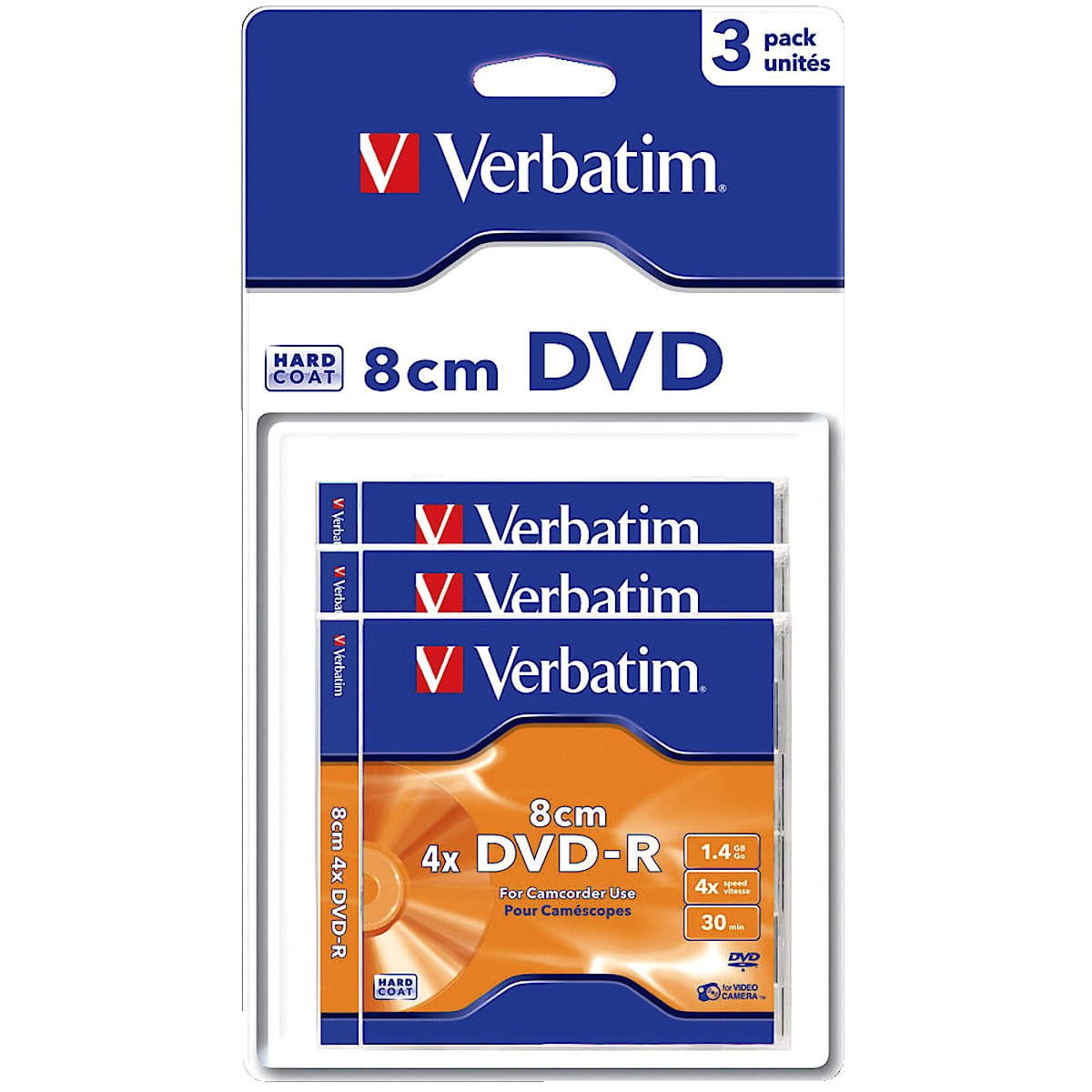 1.4 GB Verbatim Mini DVD