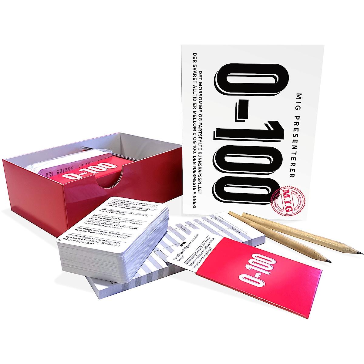 MIG 0-100 spørrespill