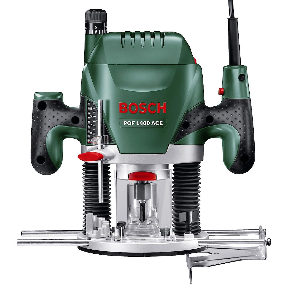 Käsiyläjyrsin Bosch POF 1400 ACE,