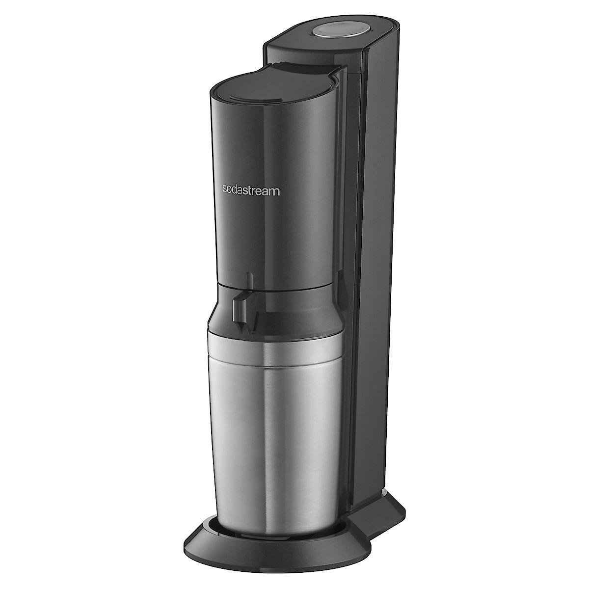 SodaStream Crystal, Black Metallic kullsyremaskin