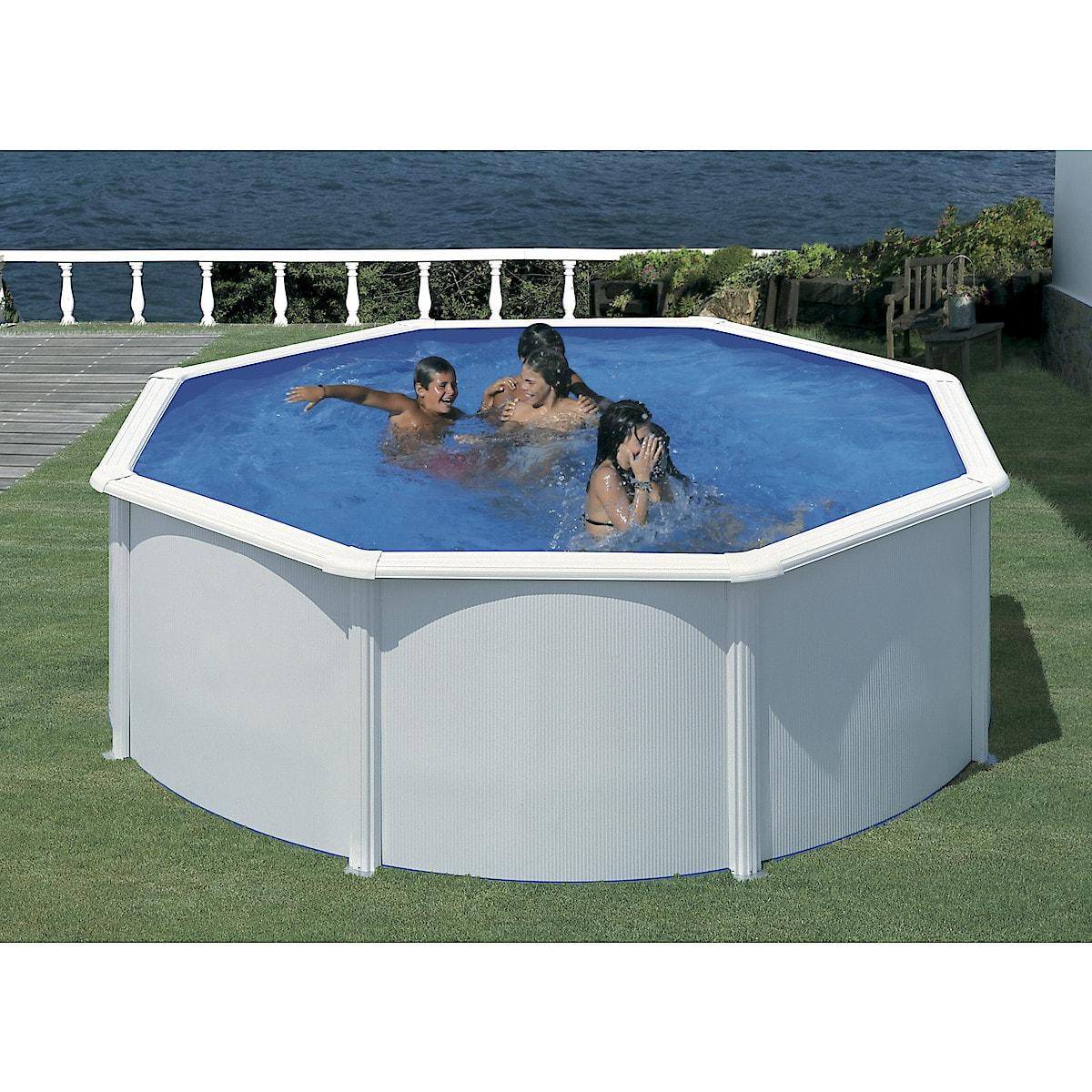 Swim & Fun Ø 3,6 m komplett stålrammebasseng