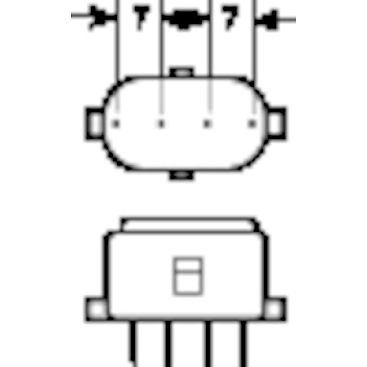 Kompaktlysrör 827 2G7 Osram