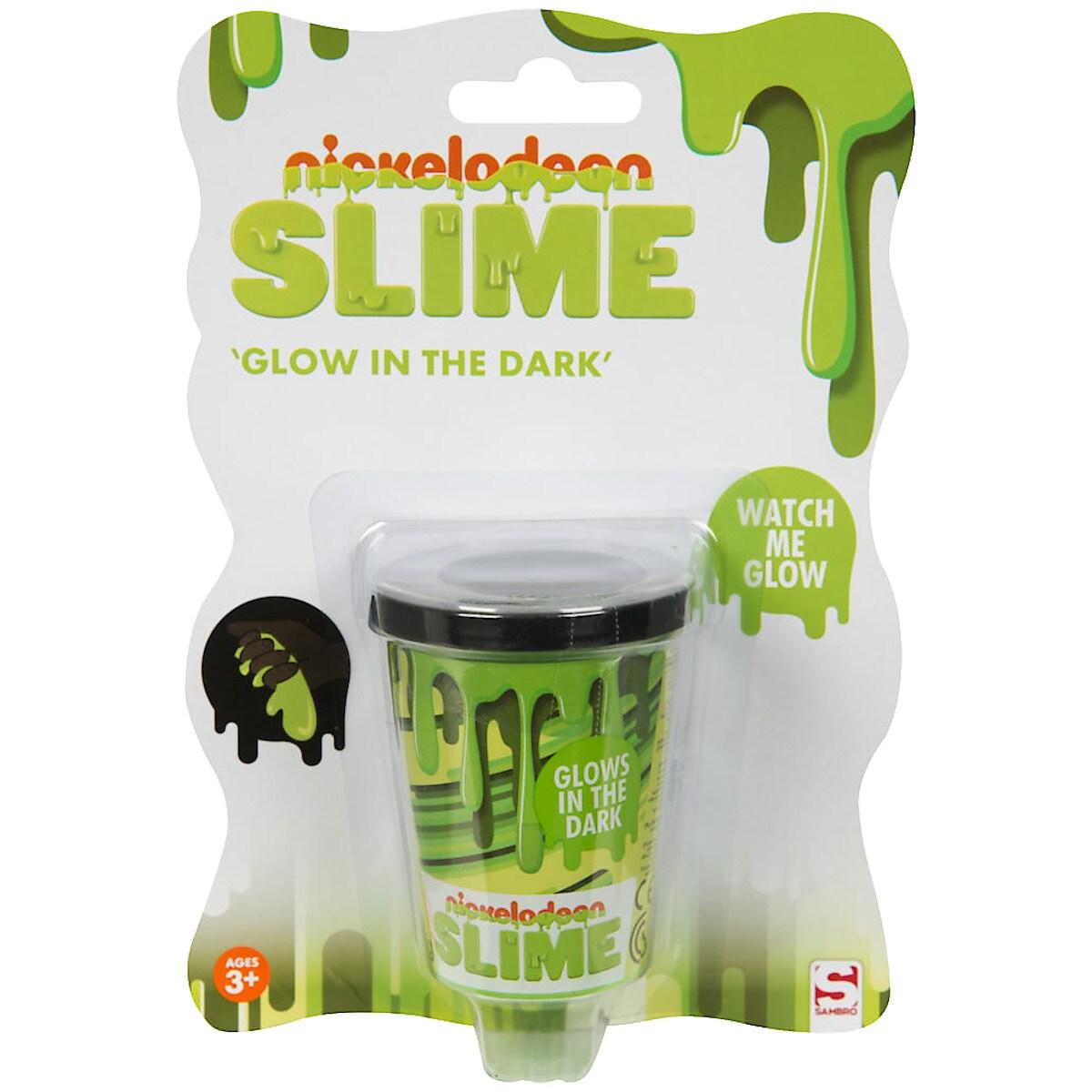 Slime glow in the dark, Nickelodeon