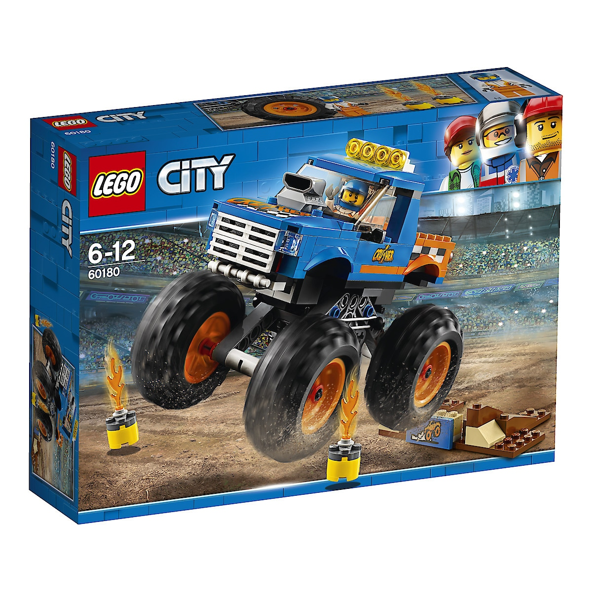 LEGO City Great Vehicles 60180, Monster Truck