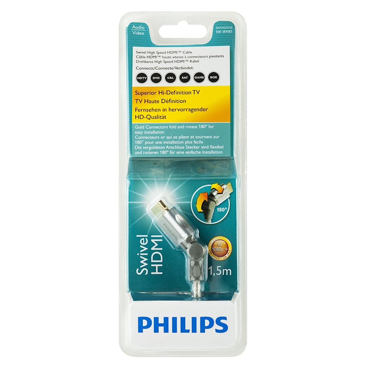 Vinklingsbar HDMI-kabel, Philips