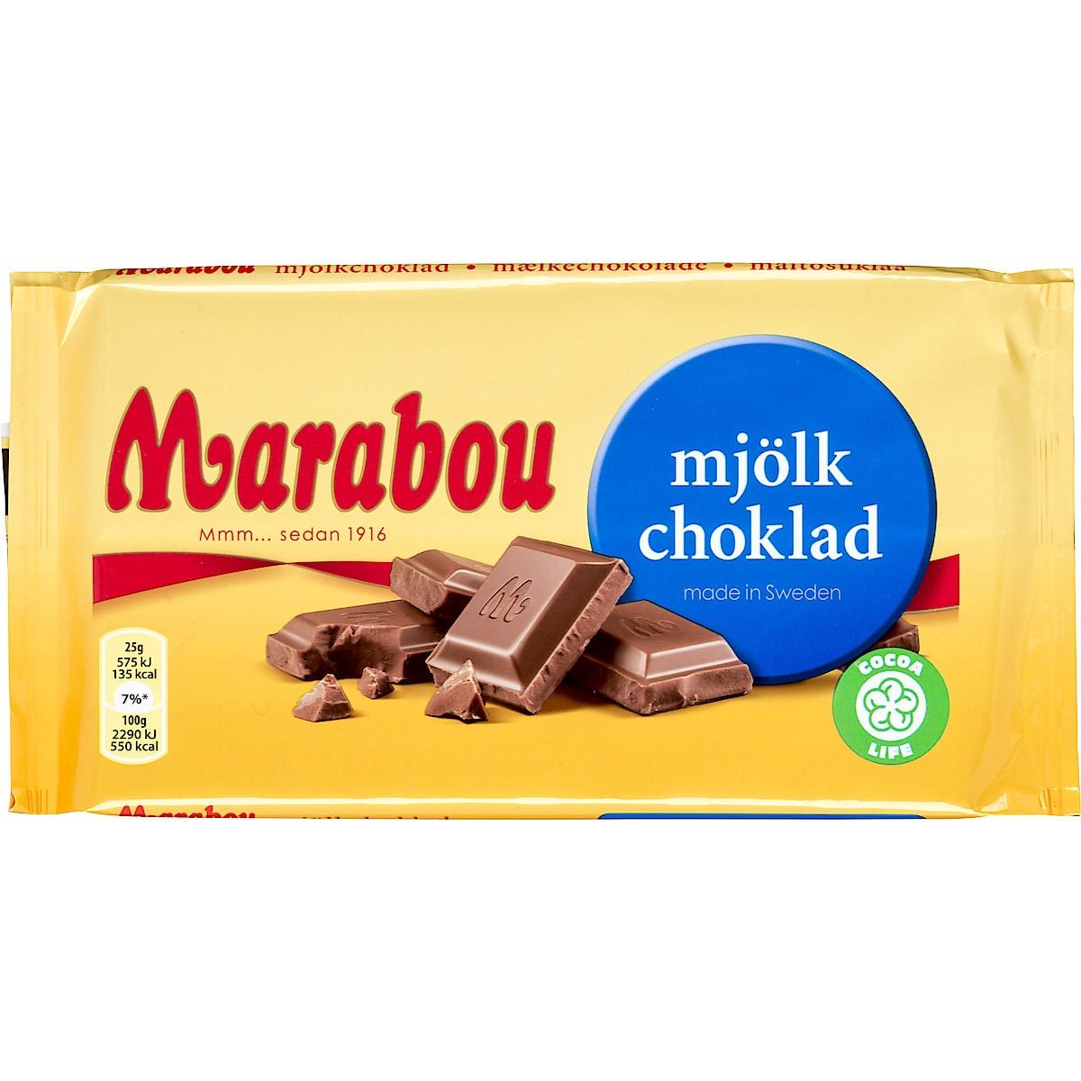 Marabou Mjölkchoklad 150 g