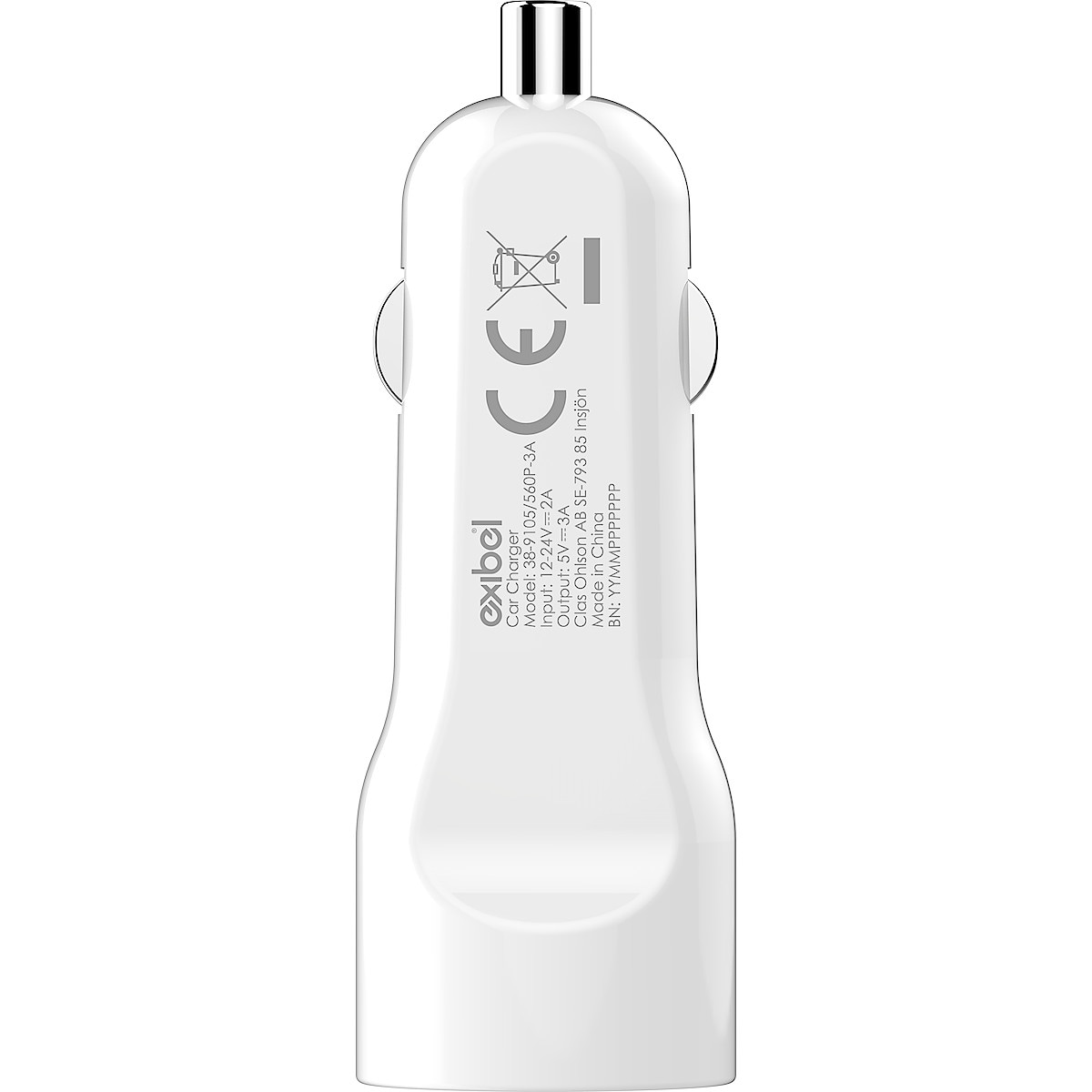 12 V-laddare USB-C Exibel