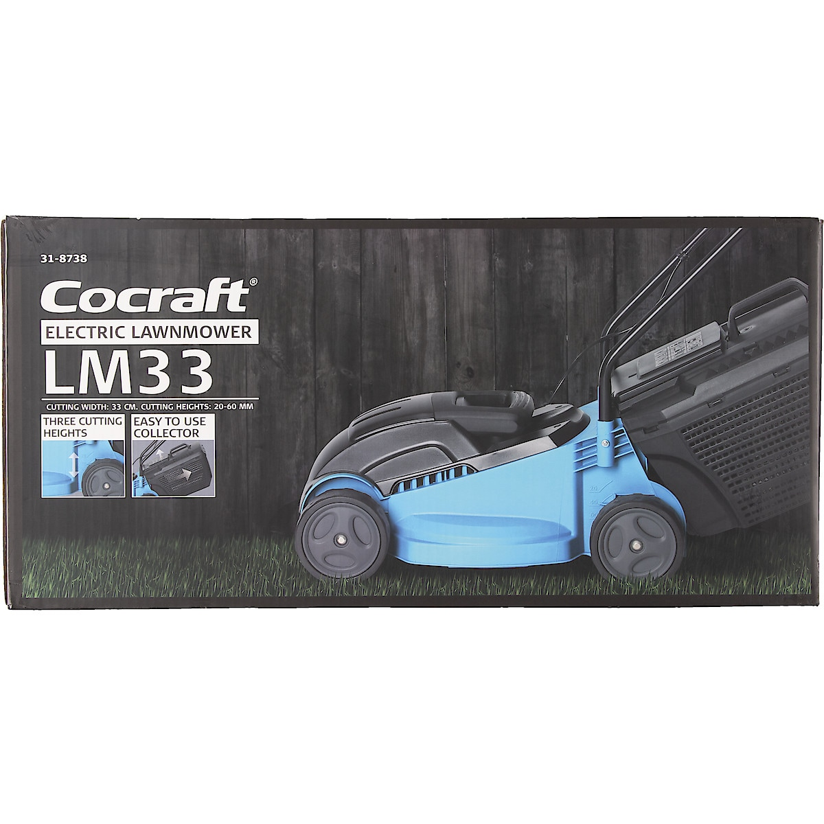 Elektrorasenmäher Cocraft LM33