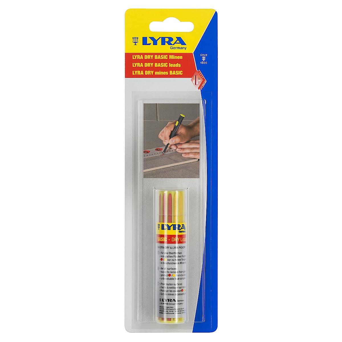 Reservstift Lyra Dry Basic, 12-pack