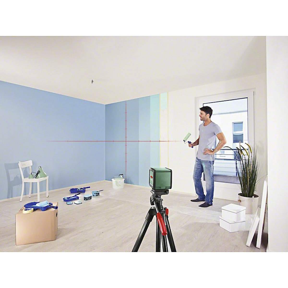 Bosch Quigo Plus Cross-Line Laser Level