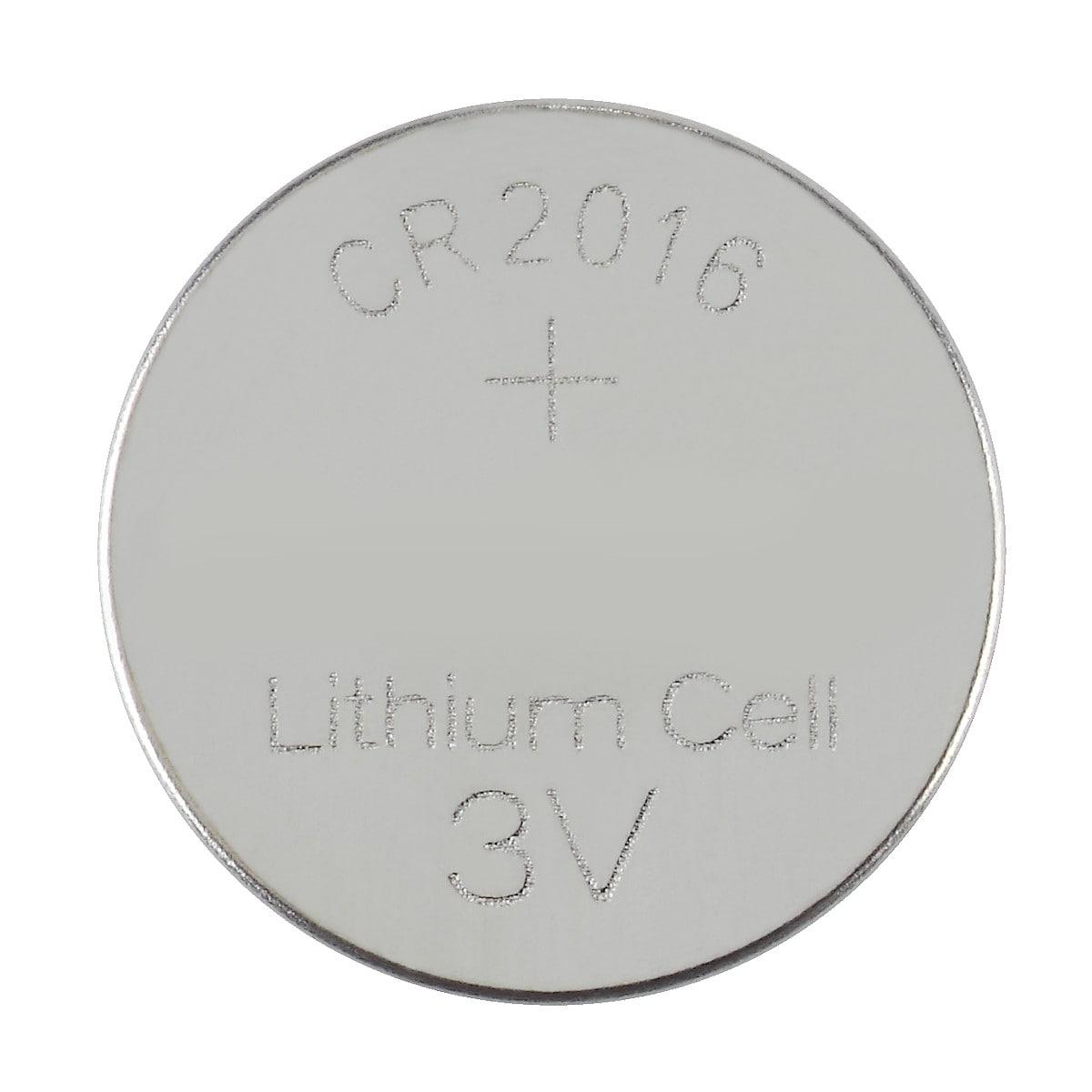 Litiumbatteri CR2016 5-pack