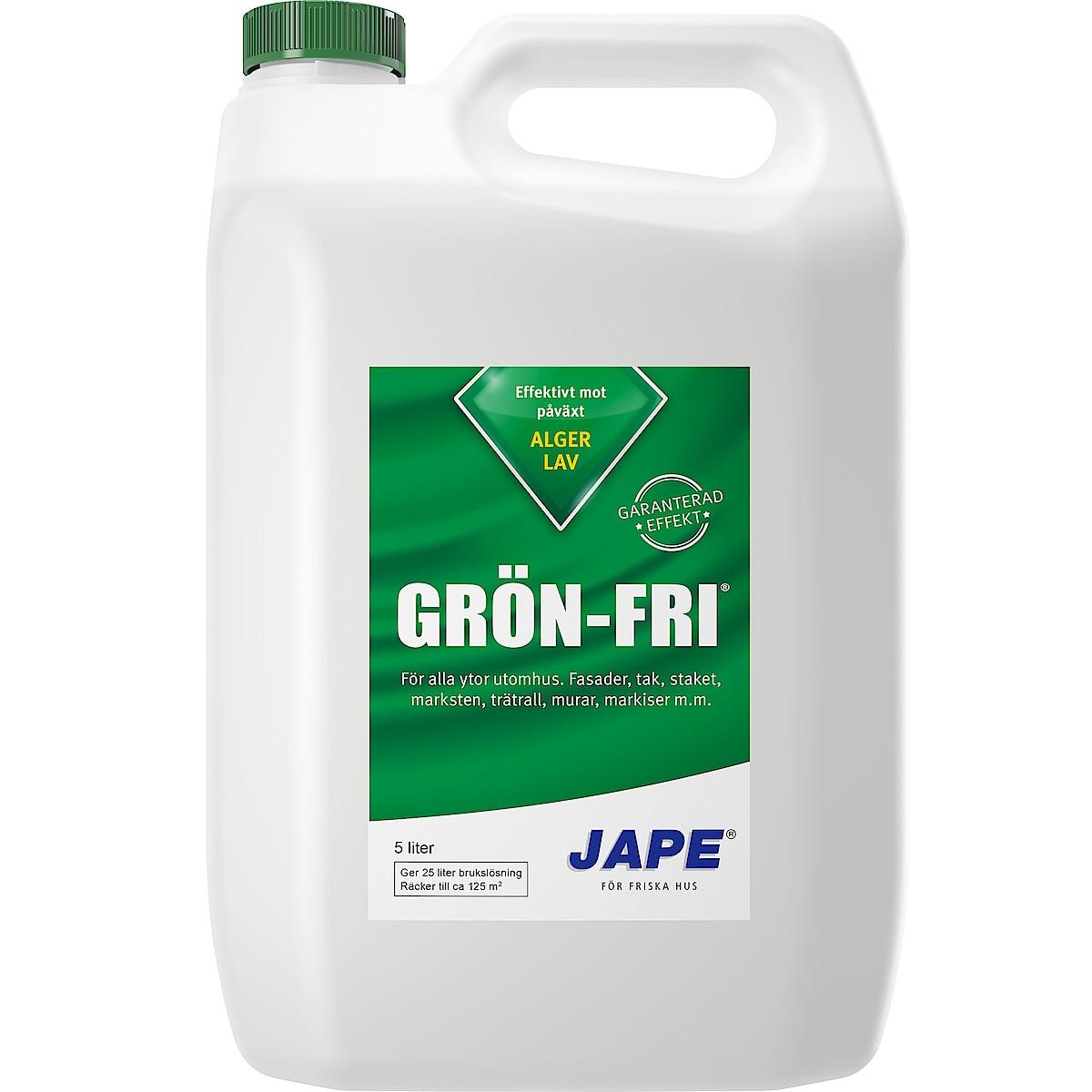 Takrengöring Grön Fri Jape