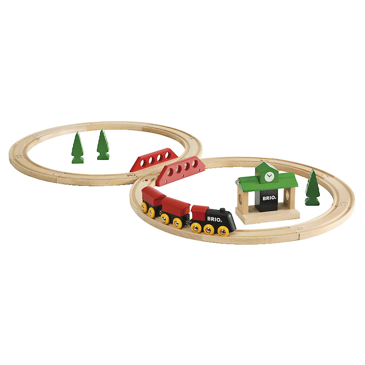 Klassisk tågbana Brio
