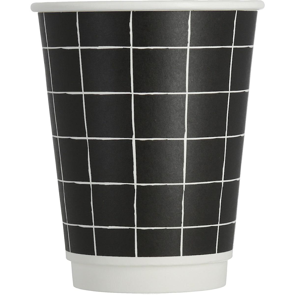 Pappersmuggar 36 cl, svart