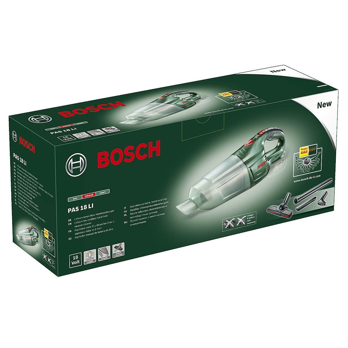 Dammsugare Bosch PAS 18V LI