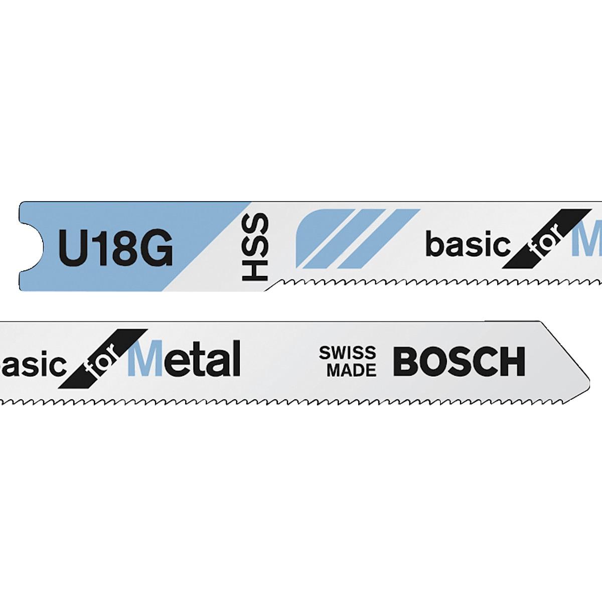 Pistosahanterä HSS U118G Bosch