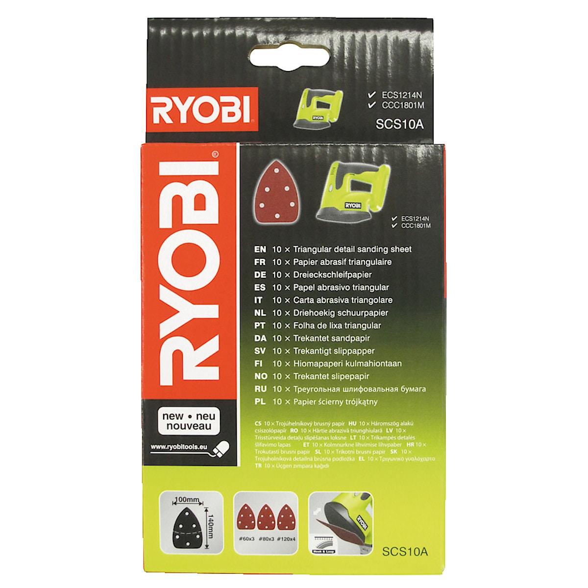 Slipepapir 140 x 100 mm, Ryobi