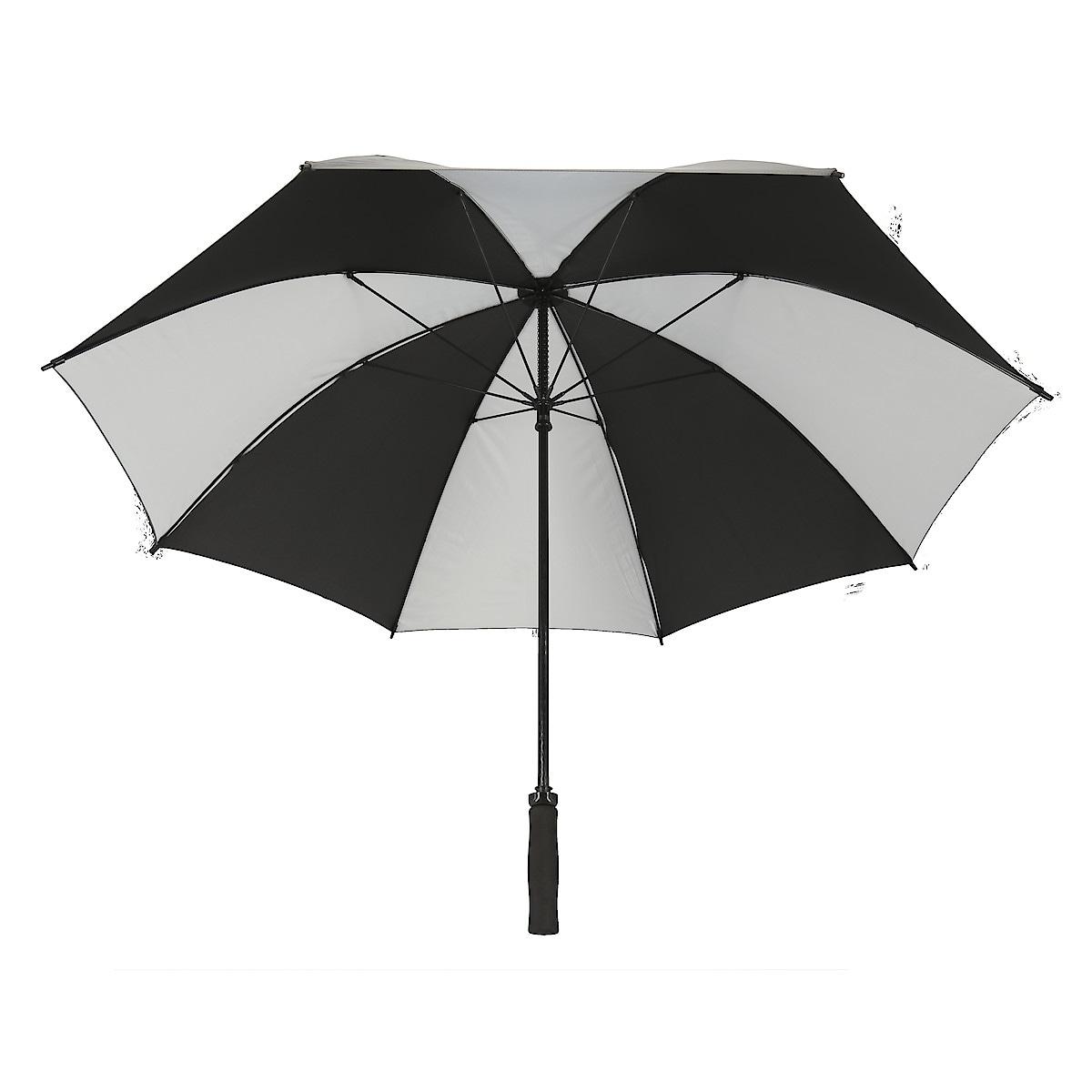 Paraply med reflex 115 cm, Asaklitt