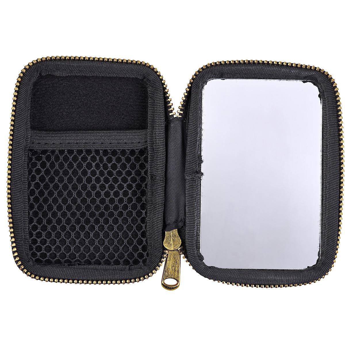 Earphones Case with Mirror