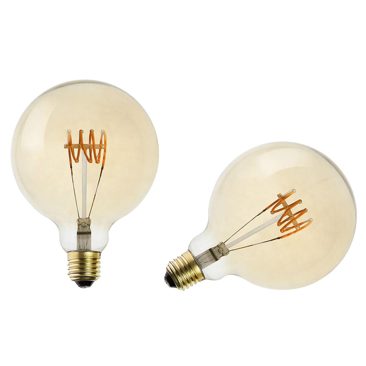 Himmennettävä koristelamppuLED Glob E27 Northlight