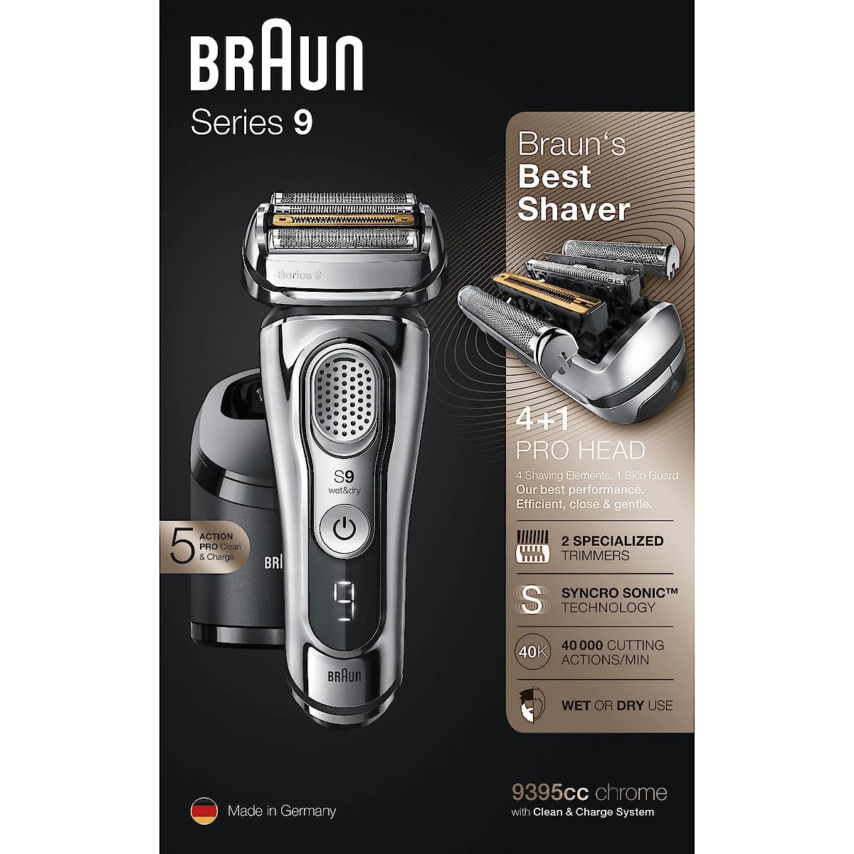 Partakone Braun Series 9, 9395cc Wet & Dry