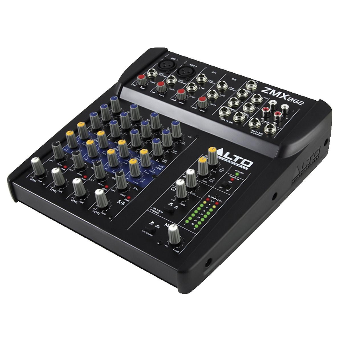 Alto Professional Zephyr ZMX862 6-kanals miksebord