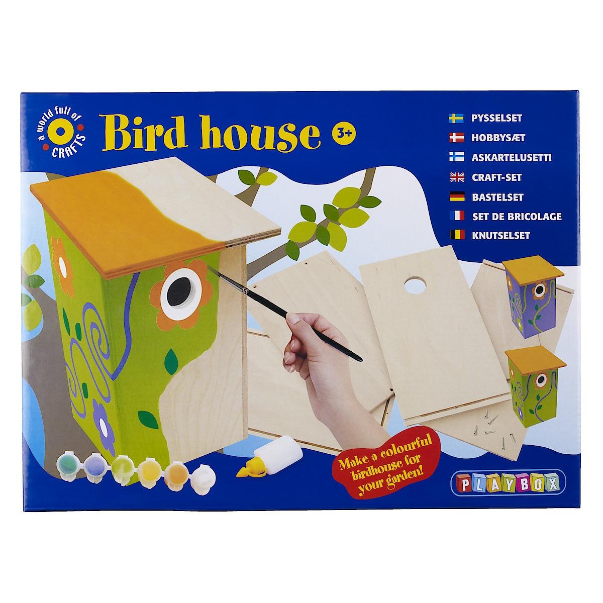 Byggsats fågelholk