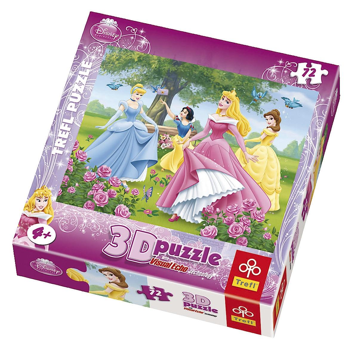 3D Princess puslespill