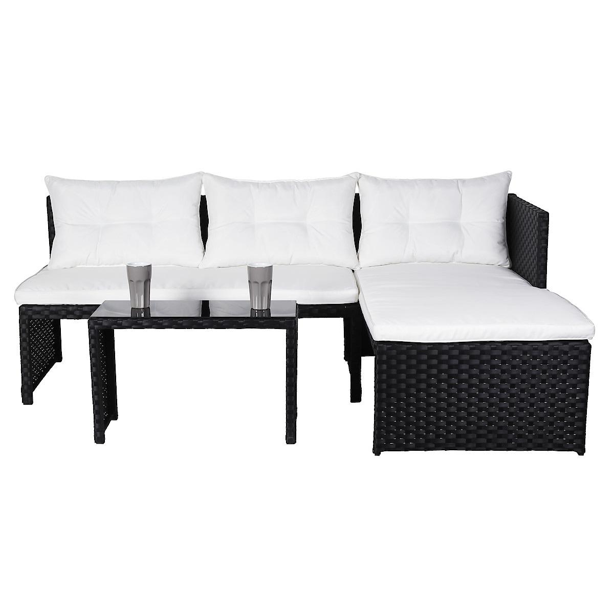 Gartenmöbel, Sofa mit Recamiere