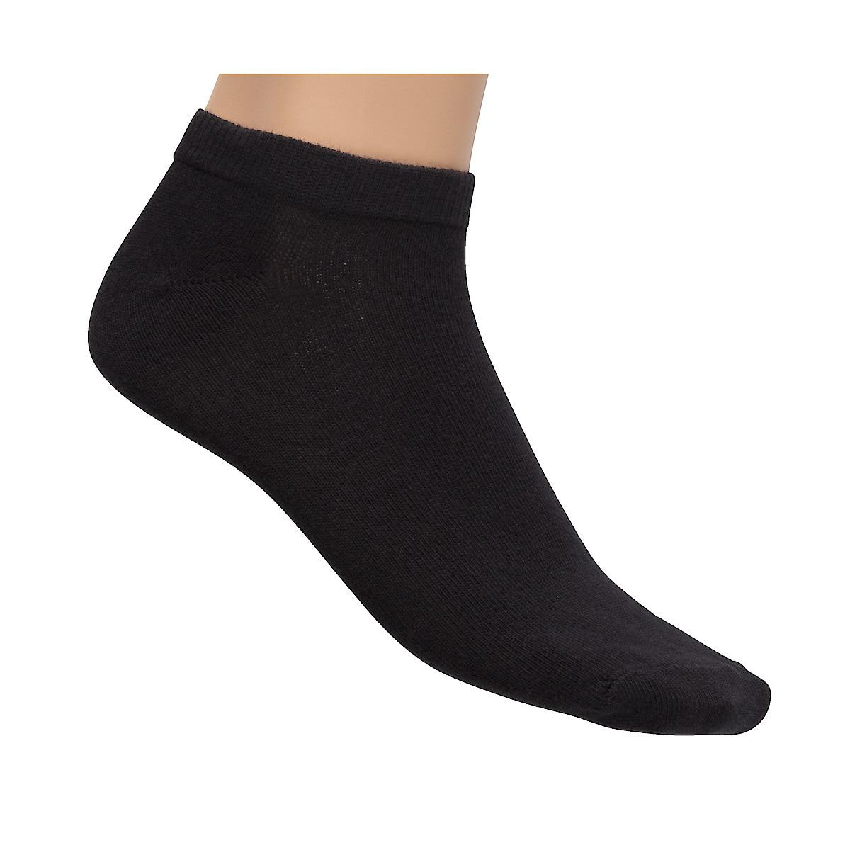 Black Ankle Socks, 5-pack