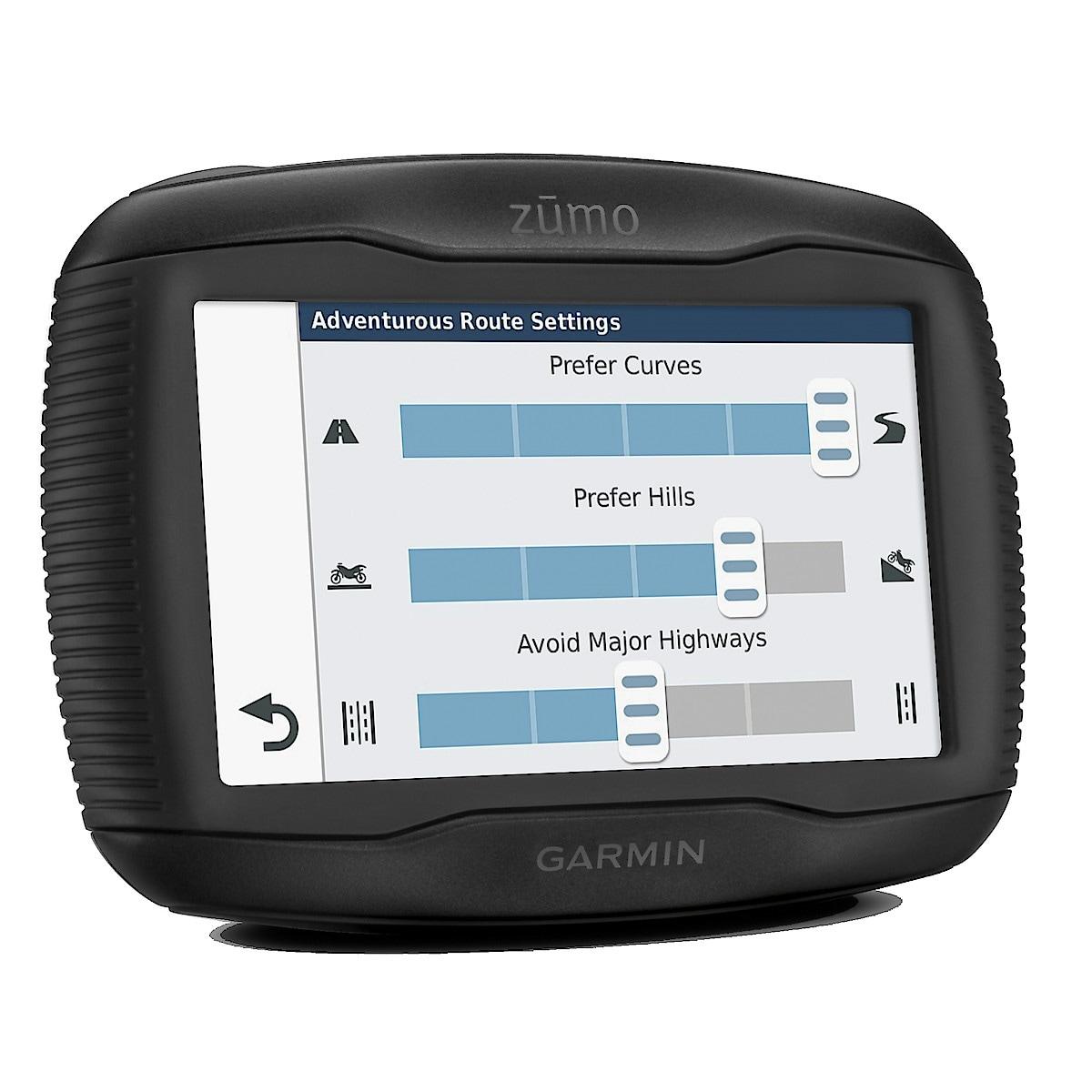 Navigator för MC Garmin Zumo 395LM