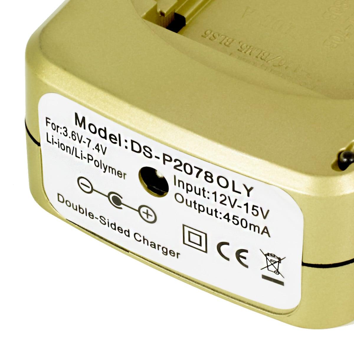 Batteriladdare DS-P2078OLY, Olympus/Fuji