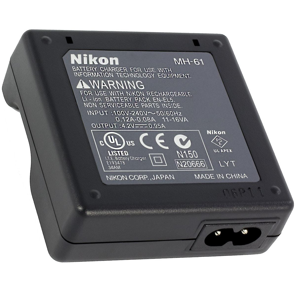 Batterilader Nikon MH-61