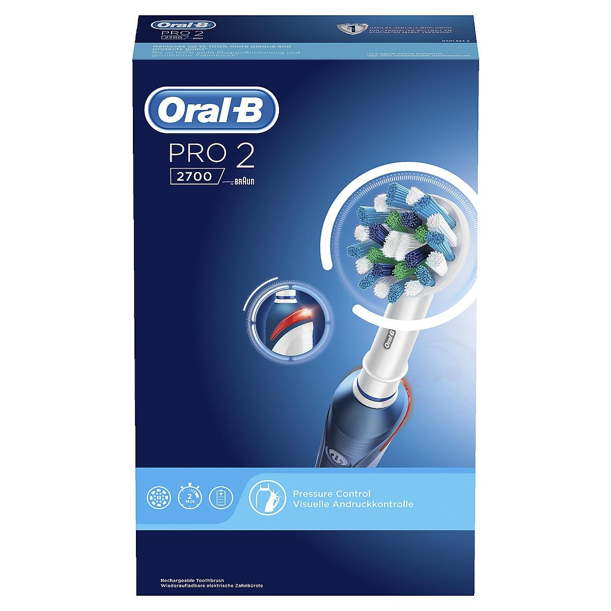 Sähköhammasharja Oral-B PRO 2700 Cross Action
