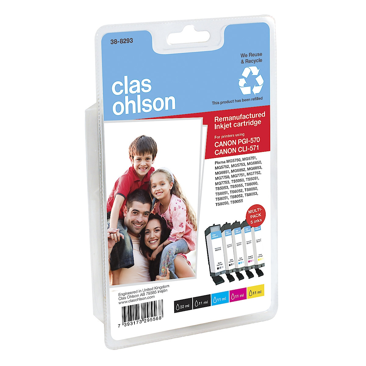 Clas Ohlson Canon PGI-570/CLI-571 Ink Cartridges