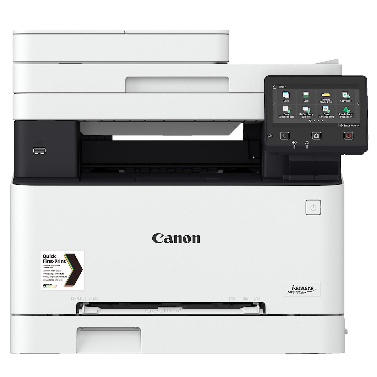 Canon i-Sensys MF643CDW, färglaserskrivare