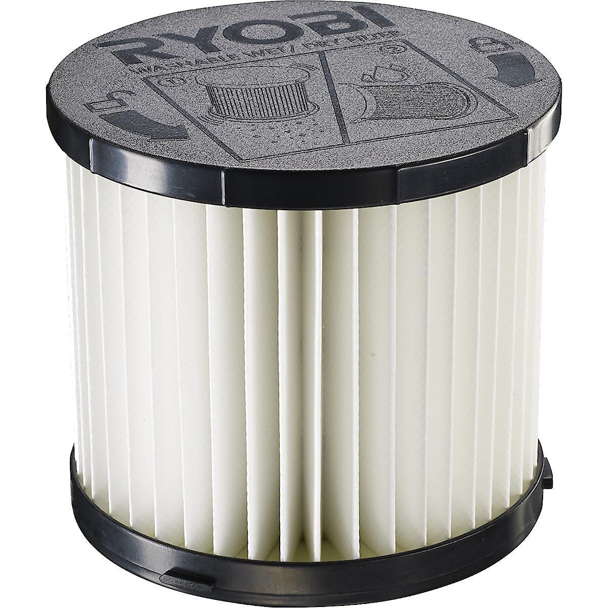 Filter till dammsugare Ryobi RPVF